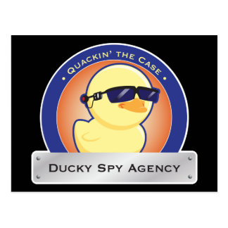 Ducky Spy Agency Postcards