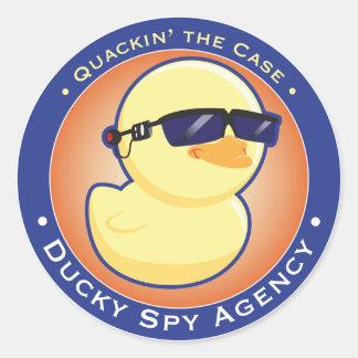 Ducky Spy Agency Sticker