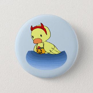 Ducky's Halloween 6 Cm Round Badge