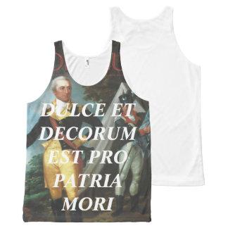 Ducle Et Decorum Est Pro Patria Mori - Tank Top All-Over Print Tank Top