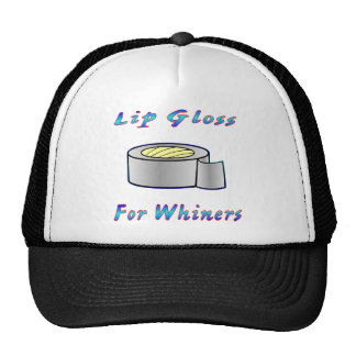 Duct Tap Ie: Lip Gloss For Whiners Cap