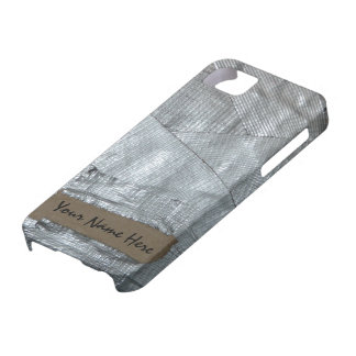 Duct Tape and Ripped Cardboard  Tag iPhone 5 Cover