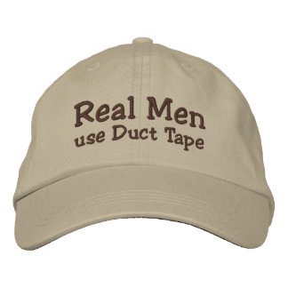 Duct Tape - Funny hat Embroidered Hats