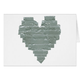 Duct Tape Heart Card