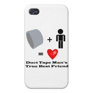 Duct Tape Man's Best Friend Handyman Humor iPhone 4 Cases