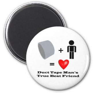 Duct Tape Man's Best Friend Handyman Humor Magnet
