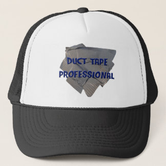 duct tape professional trucker hat