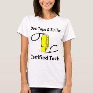 Duct Tape & Zip Tie Certified Tech T-Shirt