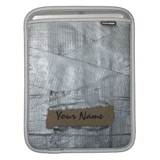 Duct Taped Funny Ipad Sleeve with Your Name