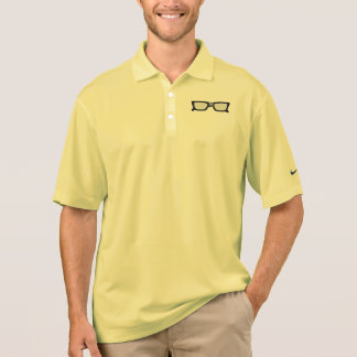 Duct Taped Glasses Polo T-shirts