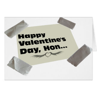 Duct Taped Valentine Greeting Card