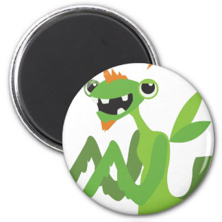 dude, cute cool animal cartoon design magnet