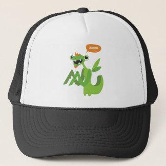 dude, cute cool animal cartoon design trucker hat