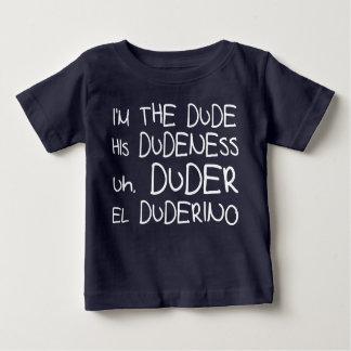 DUDE, DUDENESS, DUDER, DUDERINO humour TEE