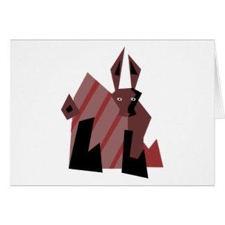 Dude Rabbit Card