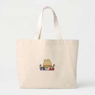 dude texas large tote bag