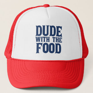 Dude With The Food Blue Cap
