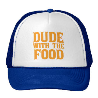 Dude With The Food Orange Cap