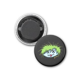 Dude Zombie (on dark background) Magnet