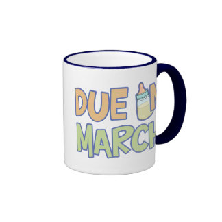 Due In March Coffee Mugs