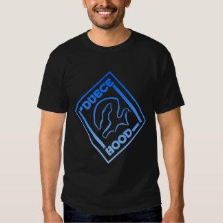 DUECE HOOD LOGO BLUE ZONE T-SHIRT