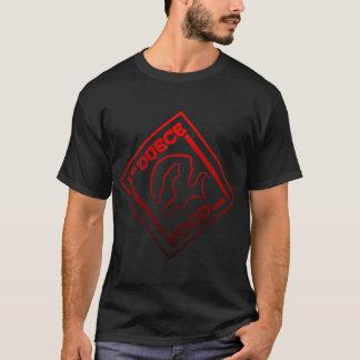 DUECE HOOD LOGO RED/BLK T-Shirt