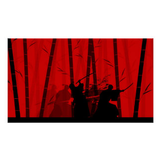Duel in the Red Bamboo - Samurai Battle Posters