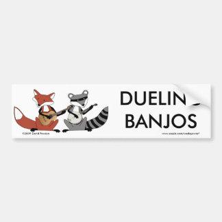Dueling Banjos Bumper Sticker
