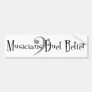 Duet (Bass) Bumper Sticker