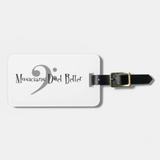 Duet (Bass) Luggage Tag