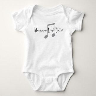 Duet (Notes) Baby Bodysuit