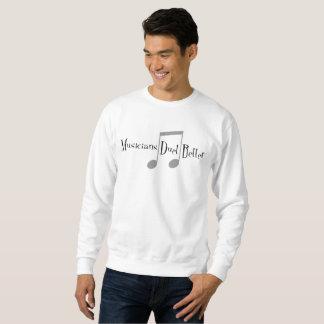 Duet (Notes) Men's Basic Sweatshirt