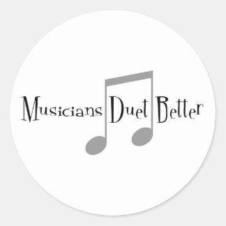 Duet (Notes) Sticker