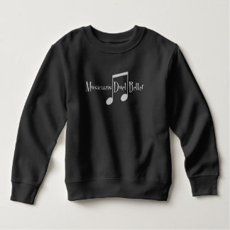 Duet (Notes) Toddler Dark Sweatshirt