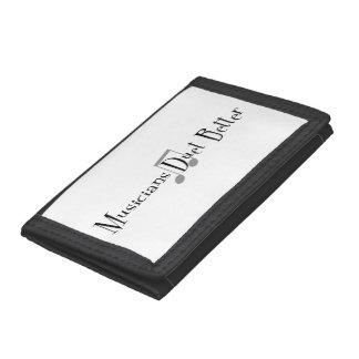 Duet (Notes) Tri-fold Wallet