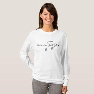 Duet (Notes) Women's Basic Long Sleeve T-Shirt