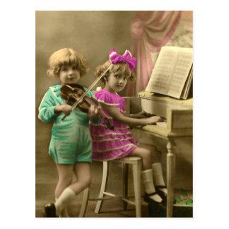 Duet Postcard