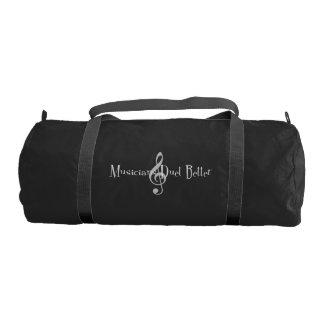 Duet (Treble) Dark Duffel Bag