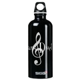 Duet (Treble) Dark Sigg Water Bottle SIGG Traveller 0.6L Water Bottle