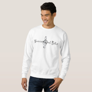 Duet (Treble) Men's Basic Sweatshirt