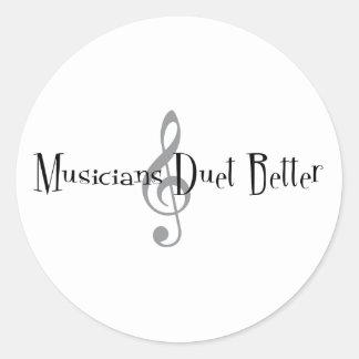 Duet (Treble) Sticker