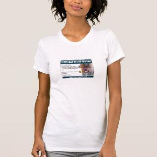 Duff 09 Voter Shirt (Womens)