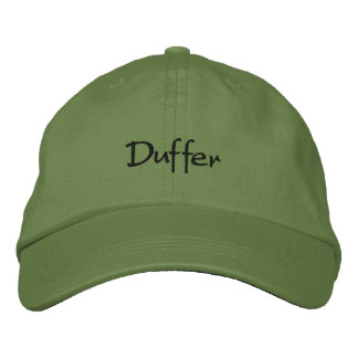 Duffer Embroidered Baseball Cap Funny Hat