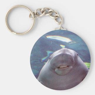 Dugong Basic Round Button Key Ring