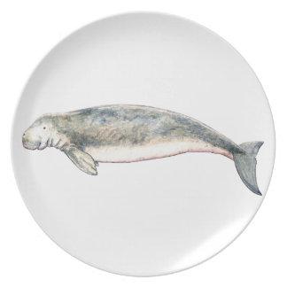 Dugong Dinner Plate