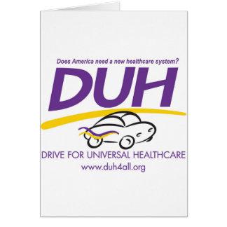 DUH-logo2014 (1).jpg Greeting Card