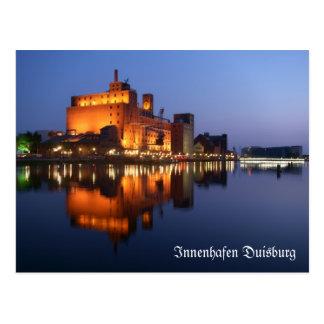 Duisburg interior port postcard