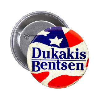Dukakis for President - Button