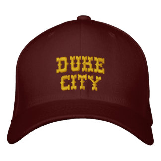 DUKE CITY EMBROIDERED CAP