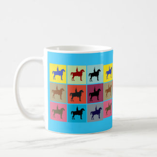 Duke of Wellington Horse Statue Box Pattern Mug